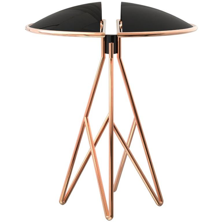 21st Century Beetle Table Lamp Brass Aluminium For Sale