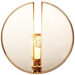 21st Century Beetle Wall Lamp Brass Aluminium