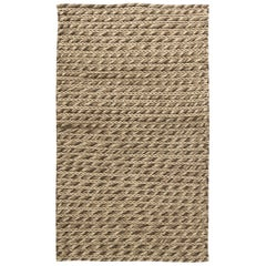 21st Century Beige Sylvan Handmade Wool Rug