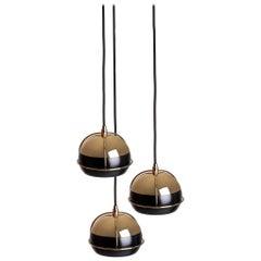 21st Century Black Widow III Pendant Lamp Brass Glass