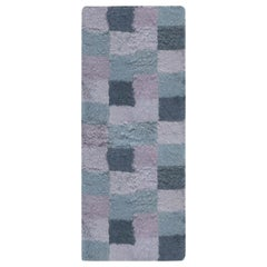 21st Century Bluebell Swedish Rya Rug