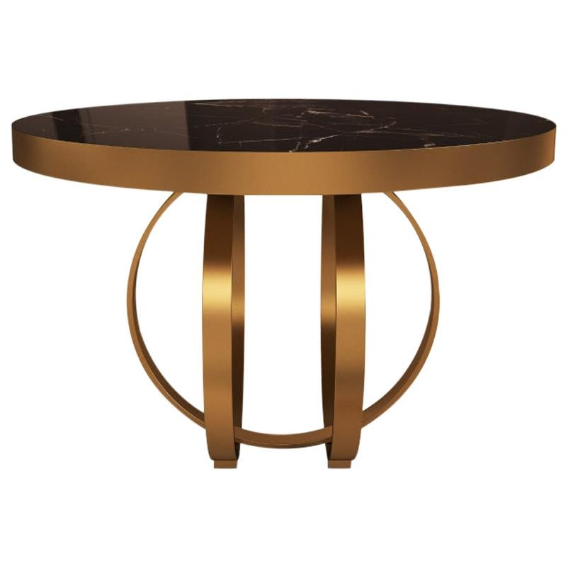 21st Century Boulder Side Table Marble