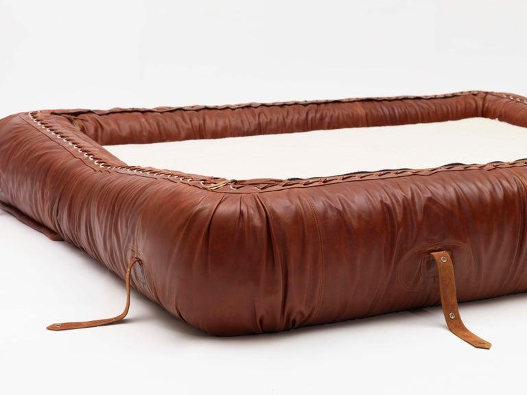 Italian Anfibio Transformable Sofa project by A. Becchi for Giovannetti Collezioni For Sale