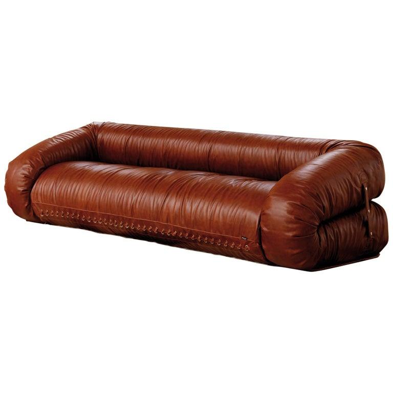 Anfibio Transformable Sofa project by A. Becchi for Giovannetti Collezioni For Sale