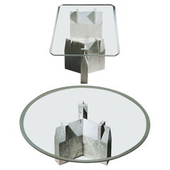 """21st Century by Arch. A. Natalini """"ANSEATICO"""" Rectangular or Round Coffee Table"""