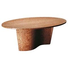 21st Century by Arch.Mario Bellini Rosso Verona Marble Table Doppiasvolta