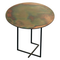 21st Century by Ce Studio Coffee Table Steel Artisan Finish Custom
