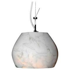 21st Century by Feix & Merlin Charlotte Marble Pendant Lamp Light Calacatta