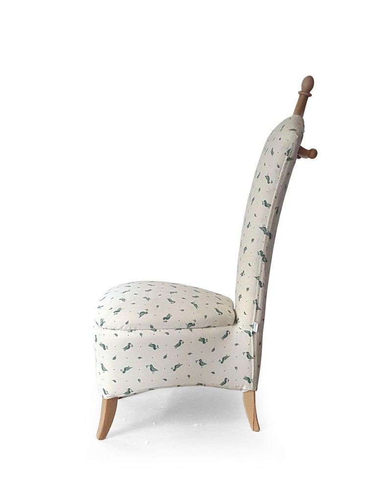 Modern Ancella Armchair project by Mauro Lovi for Giovannetti Collezioni 21st Century For Sale
