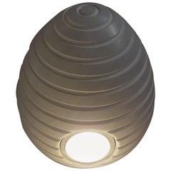 21st Century by Michele De Lucchi Small MarbleOvo Lamp in Statuario & Bardiglio