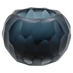 21st Century by Micheluzzi Glass Bocia Oceano Vase Handmade Murano Glass