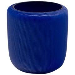 21st Century by Micheluzzi Glass Rullo Lapis Vase Handmade Murano Glass