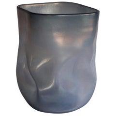 21st Century by Micheluzzi Glass Sacco Oceano Vase Handmade Murano Glass