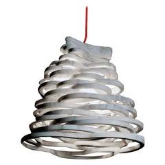 "21st Century by Paolo Ullian ""Annika"" Pendant Lamp in White Carrara Marble"