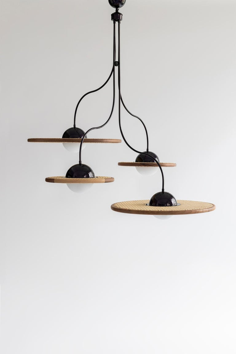 """Cassini lamps are named after the famous """"Cassini–Huygens"""" mission which was a collaboration between NASA, the European Space Agency (ESA) and the Italian Space Agency (ASI) to send a probe to study the planet Saturn and its system. Cassini-Huygens"""