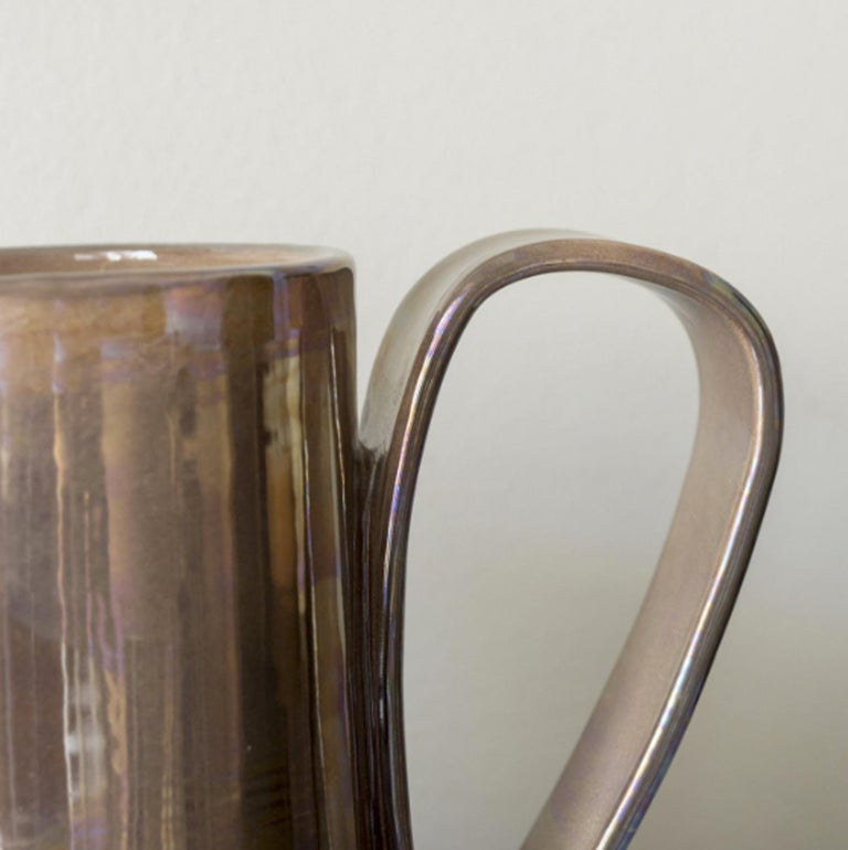 21st Century, Made in Italy Hand made Ceramic Jug In New Condition For Sale In Milan, IT