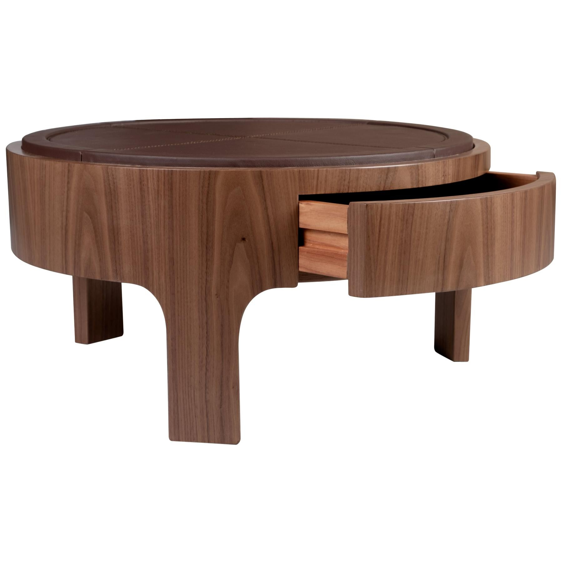 21st Century Churchill Nightstand Walnut Wood