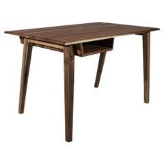 21st Century Collins Desk Walnut Wood