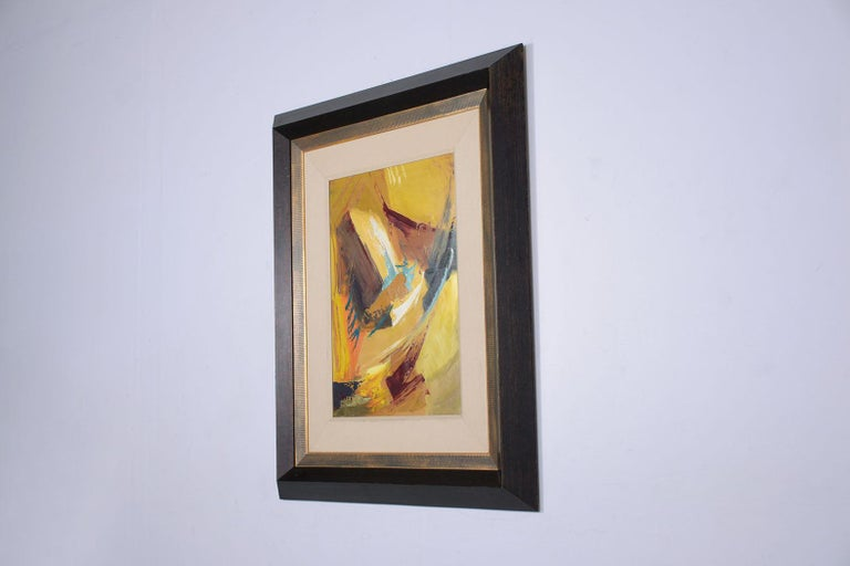 21st Century Contemporary Abstract Wall Painting For Sale 1