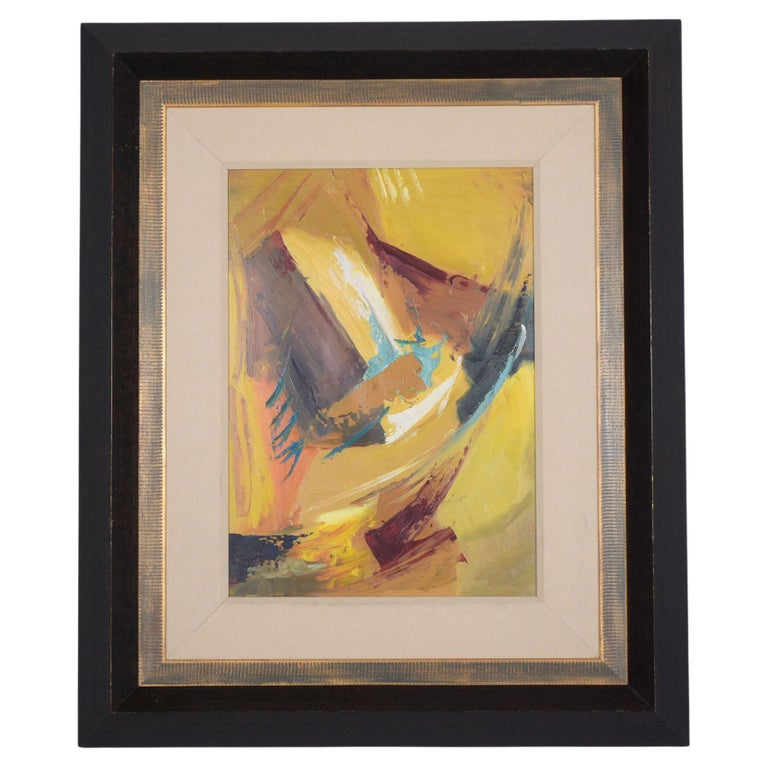 21st Century Contemporary Abstract Wall Painting For Sale
