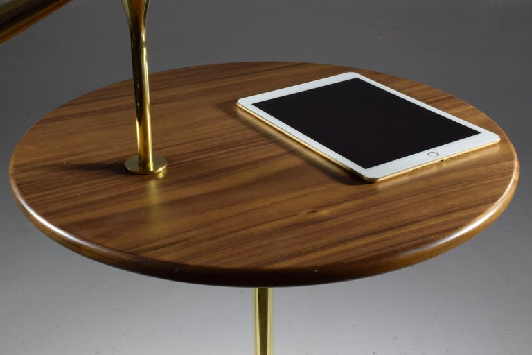 21st Century Contemporary Charging Table with Smartphone or Tablet Holder For Sale 6