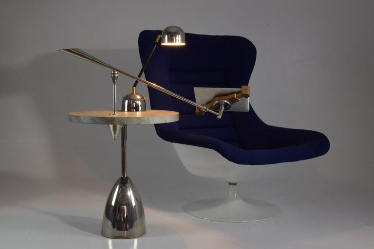21st Century Contemporary Charging Table with Smartphone or Tablet Holder For Sale 11