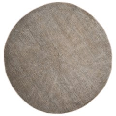 21st Century Contemporary Circle wool Rug