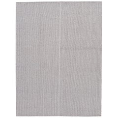 21st Century Contemporary Flat-Weave Wool Rug