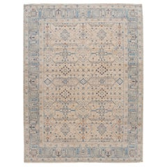 21st Century Contemporary Indian Wool Rug