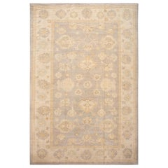 21st Century Contemporary Modern Oushak wool Rug