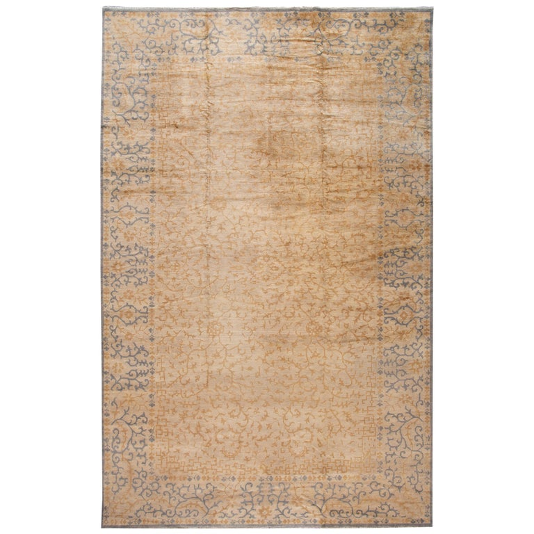 21st Century Contemporary Oversize Wool Rug For Sale