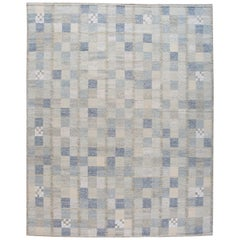 21st Century Contemporary Scandinavian Wool Rug