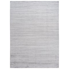 21st Century Contemporary Solid Wool Rug