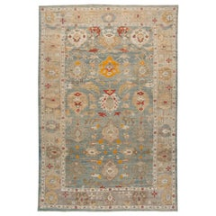 21st Century Contemporary Sultanabad Oversize Wool Rug