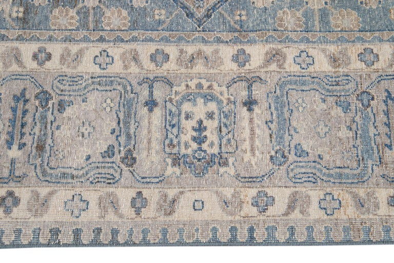 21st Century Contemporary Tabriz Style Wool Rug In New Condition For Sale In Norwalk, CT