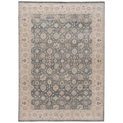 21st Century Contemporary Tabriz-Style Wool Rug