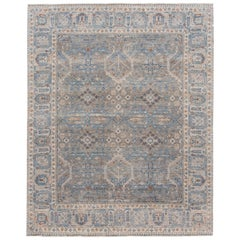 21st Century Contemporary Wilton Indian Wool Rug