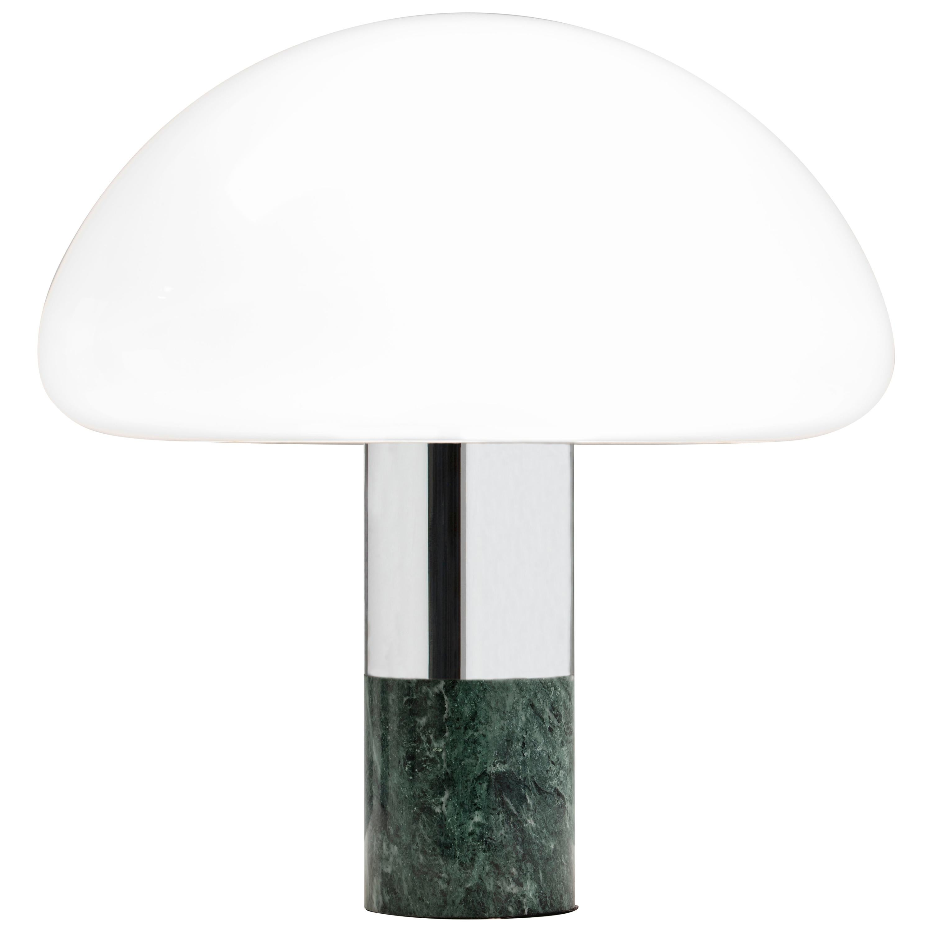 21st Century Created by William Pianta Table Desk Lamp K&W Murano Glass Marble