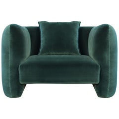 21st Century Designed by Collector Studio Jacob Armchair Fabric