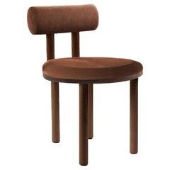 21st Century Designed by Studio Rig Moca Chair Fabric Oak