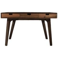 21st Century Dickens Desk Walnut Wood