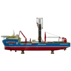 21st Century Dutch Ship Model