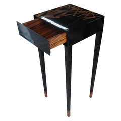 21st Century Dynasty Display Stand Lacquered wood