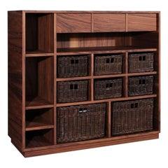 21st Century Elgar Shelf Walnut Wood