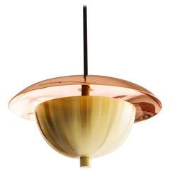 21st Century Evoluon Pendant Lamp Brass