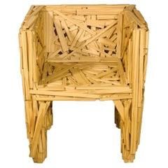 Favela Wooden Armchair by Humberto & Fernando Campana by Edra