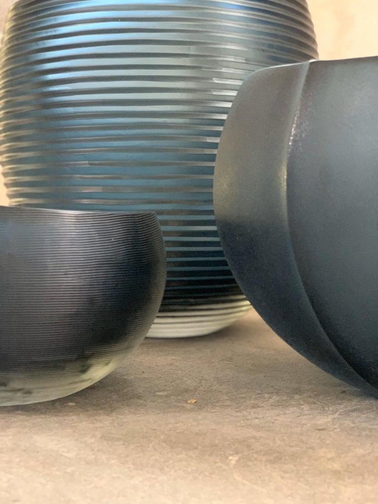 21st Century Federico Peri Medium Vase Murano Glass Various Colors For Sale 8