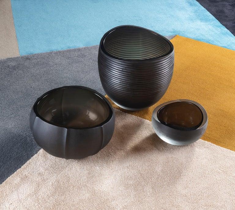 21st Century Federico Peri Medium Vase Murano Glass Various Colors For Sale 12