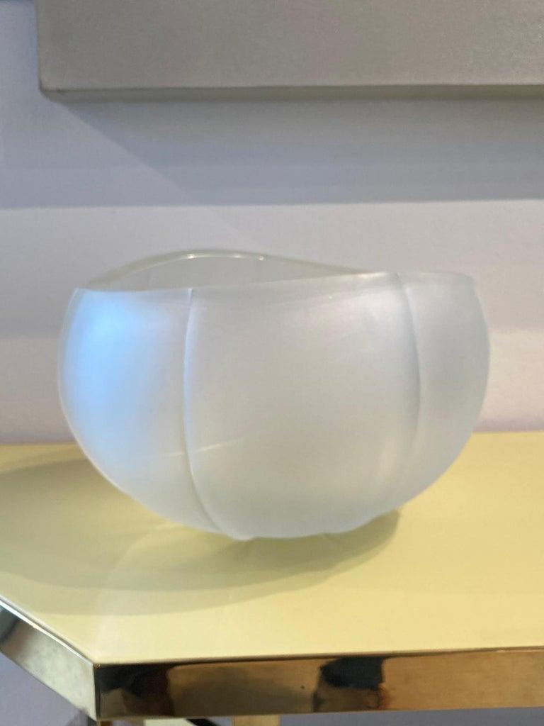Italian 21st Century Federico Peri Medium Vase Murano Glass Various Colors For Sale