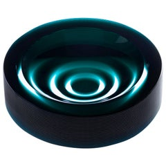 21st Century Federico Peri Stripe Ashtray Murano Glass Various Colors